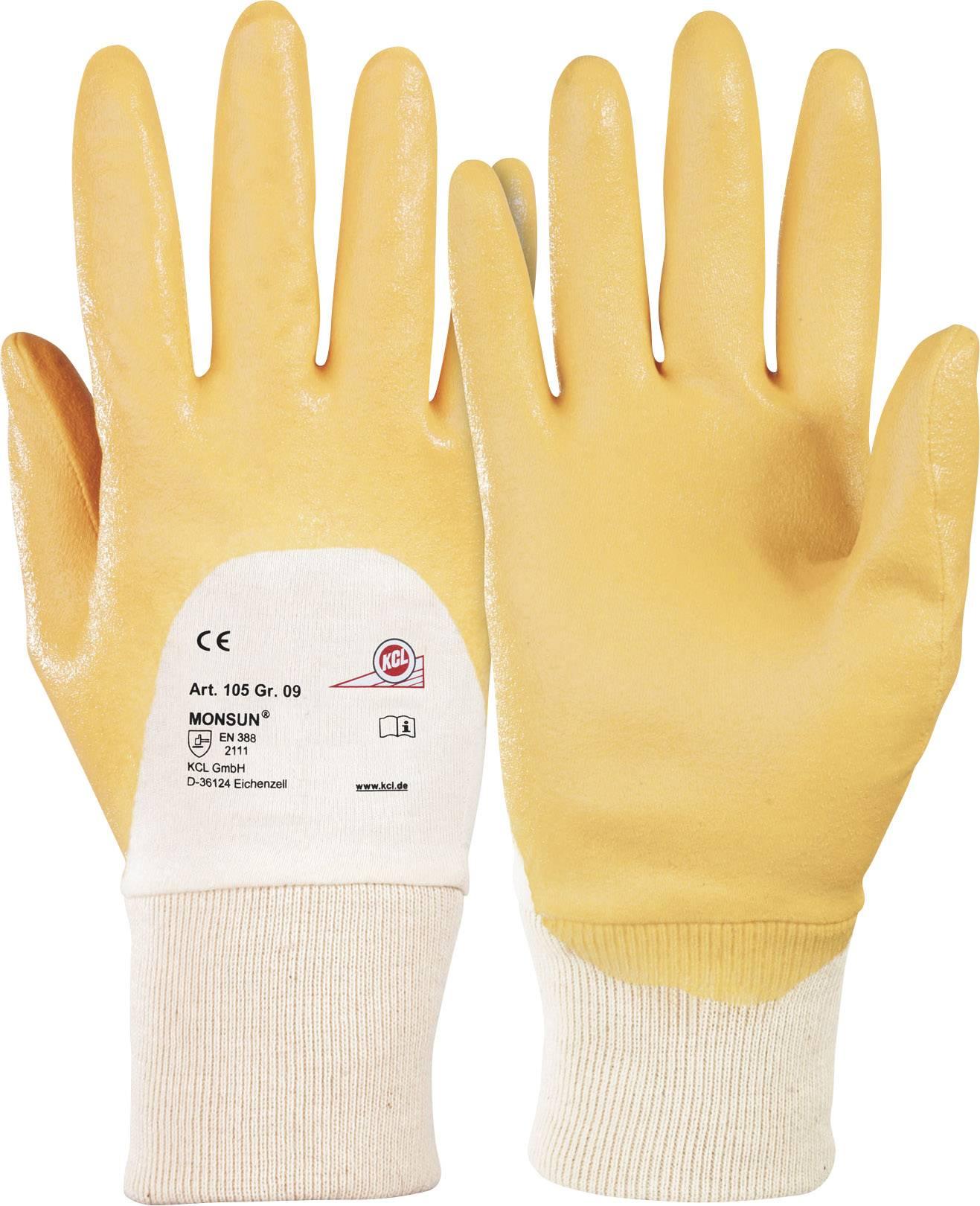 Pracovné rukavice KCL Monsun® 105, velikost rukavic: 9, L