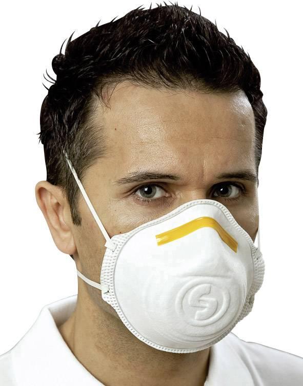 Respirátor proti jemnému prachu Mandil FFP1, 12 ks