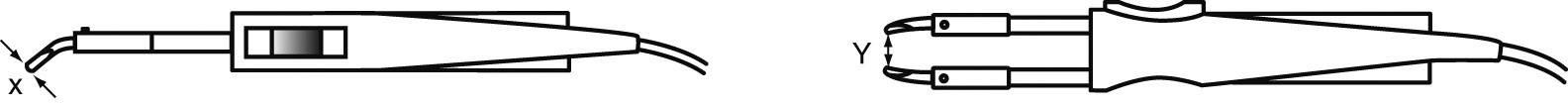 Spájkovací hrot dlátová forma Weller Professional WTA-4, velikost hrotu 12.5 mm, 2 ks