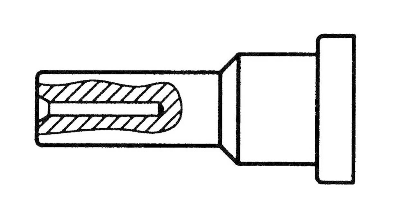 Spájkovací hrot merací hrot Weller Professional LT MESSSPITZE, velikost hrotu 0.5 mm, délka hrotu 13 mm, 1 ks