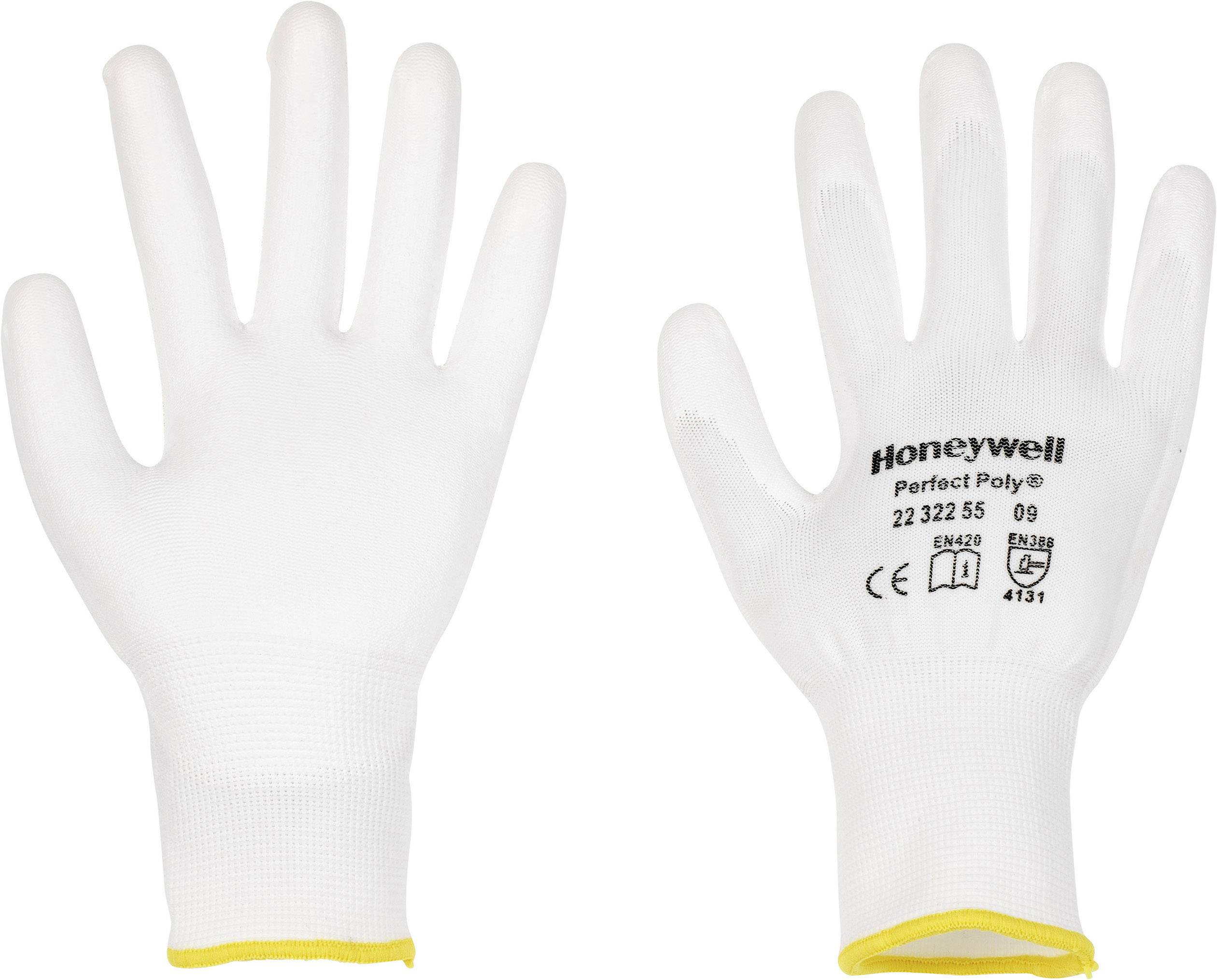 Pracovné rukavice Perfect Fit GANTS BLANCS PERFECTPOLY 2232255, velikost rukavic: 6, XS