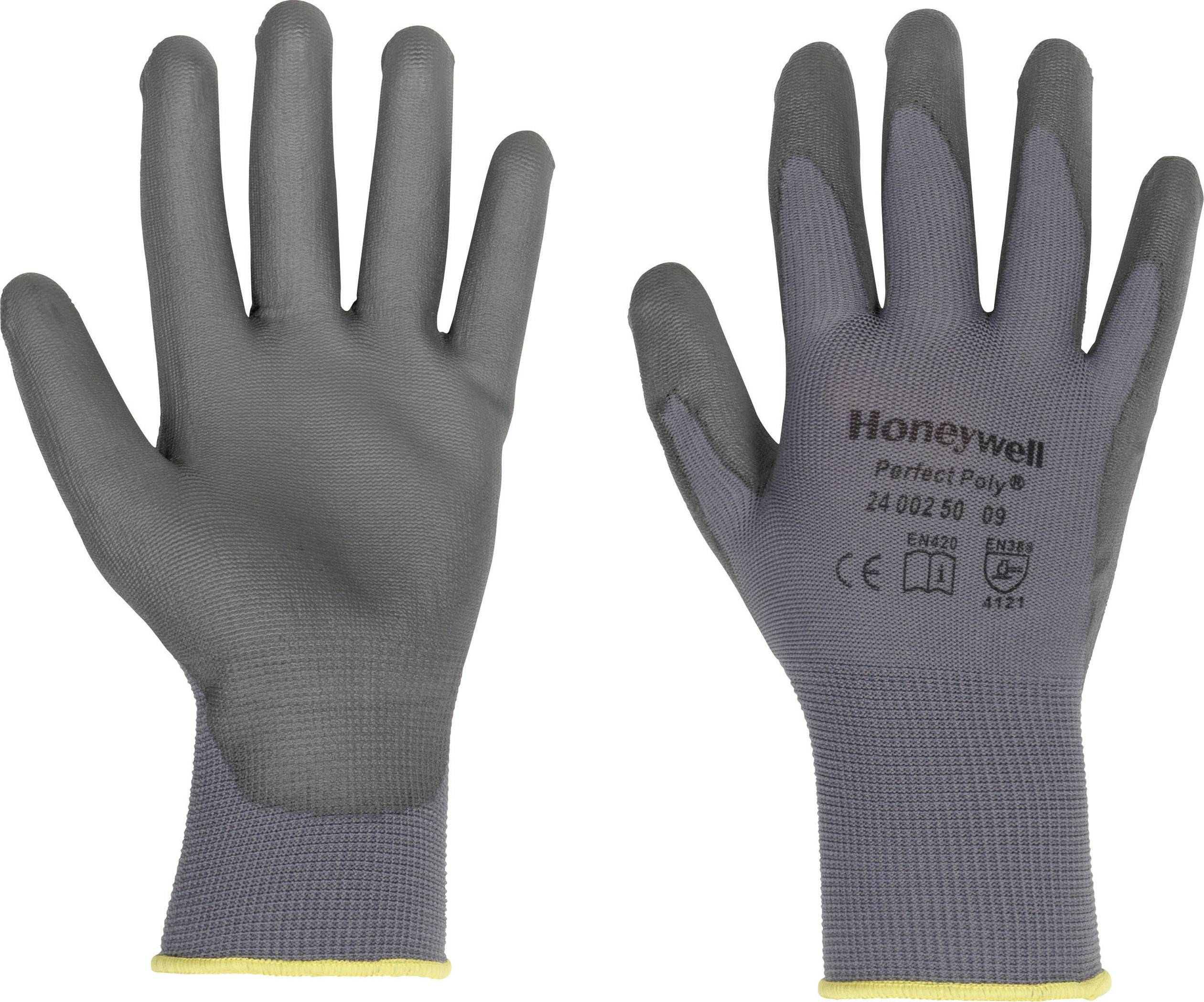 Pracovné rukavice Perfect Fit GANTS GRIS PERFECTPOLY 2400250, velikost rukavic: 8, M