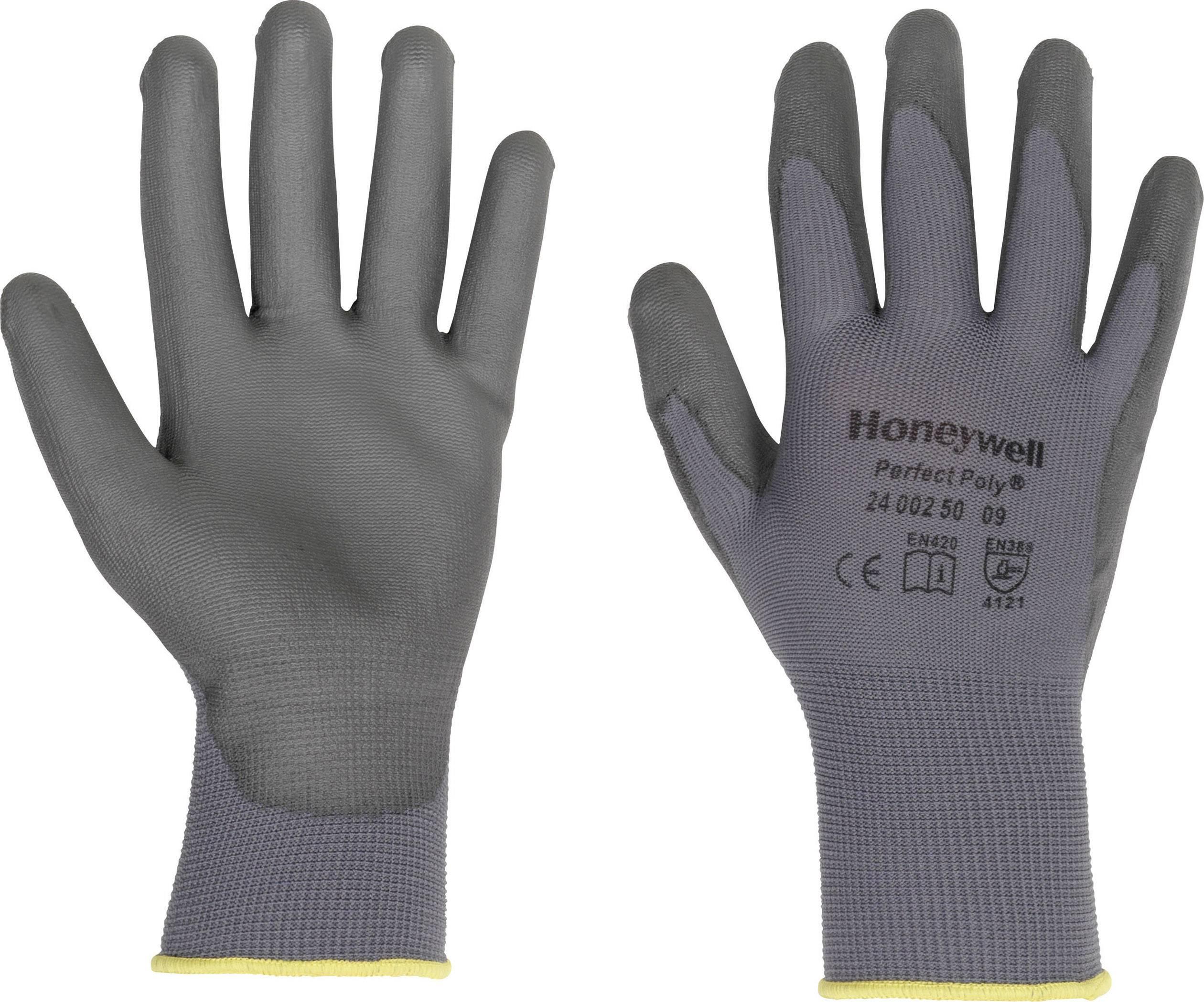 Pracovné rukavice Perfect Fit GANTS GRIS PERFECTPOLY 2400250, velikost rukavic: 8, M