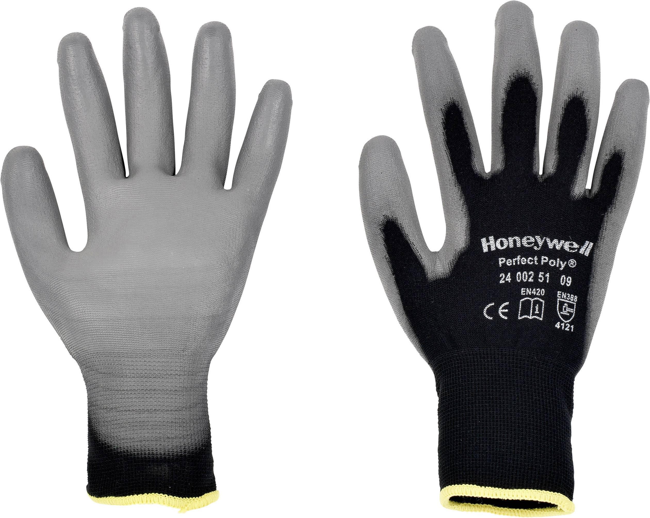 Pracovné rukavice Perfect Fit GANTS NOIRS PERFECTPOLY 2400251, velikost rukavic: 8, M
