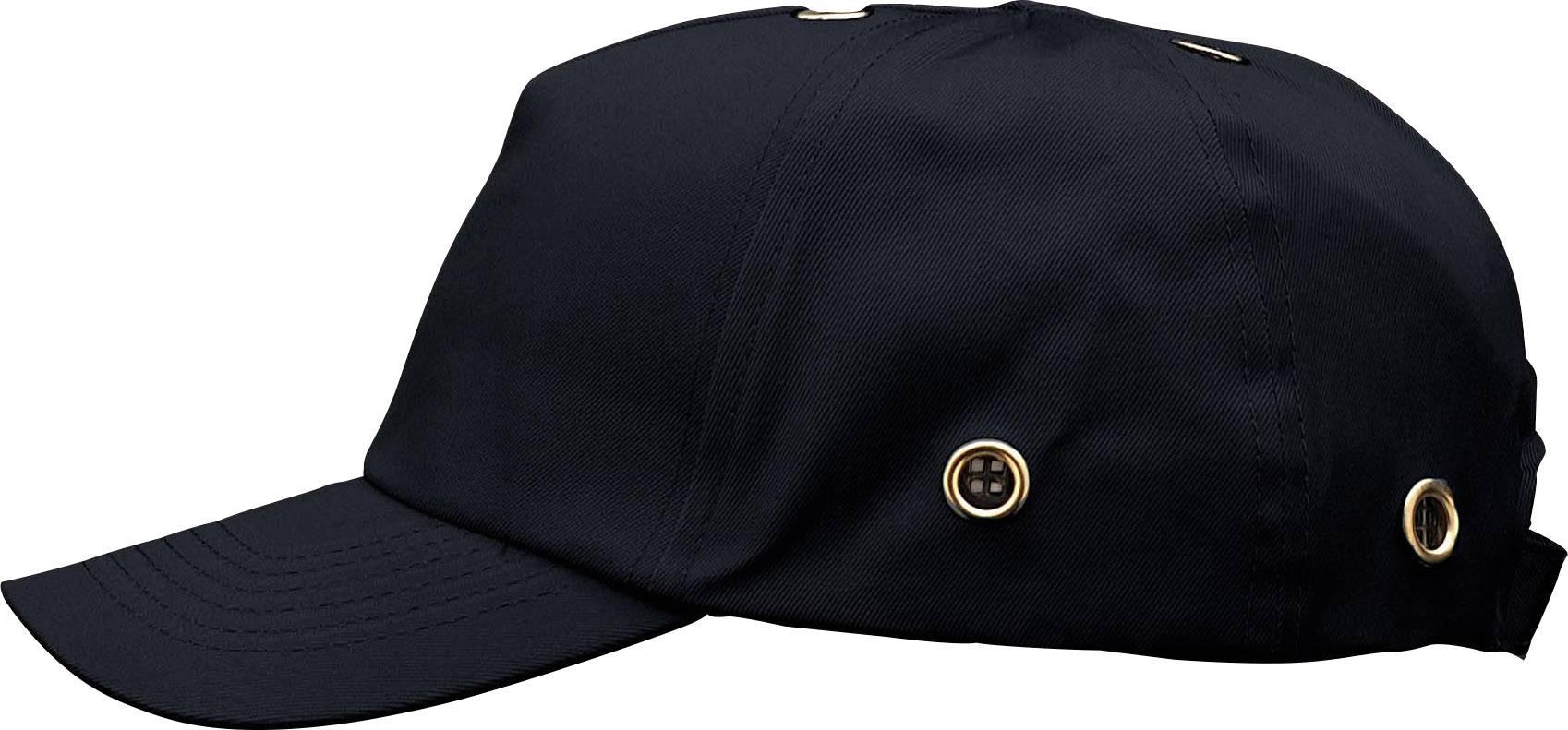 Pracovná čiapka so šiltom Voss Helme VOSS-Cap 2687, čierna