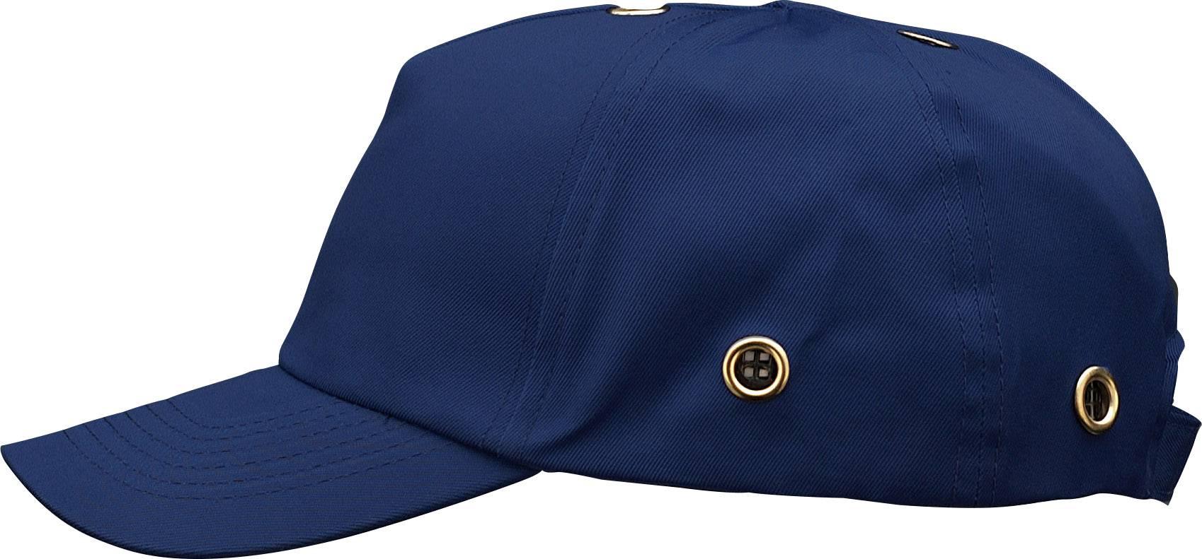 Pracovná čiapka so šiltom Voss Helme VOSS-Cap 2687, kobaltovo modrá