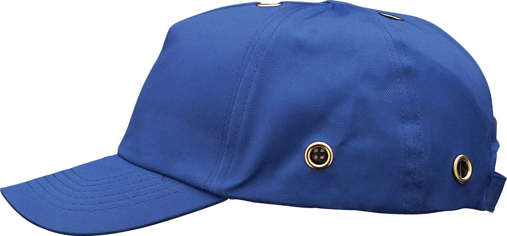 Pracovná čiapka so šiltom Voss Helme VOSS-Cap 2687, chrpová modrá