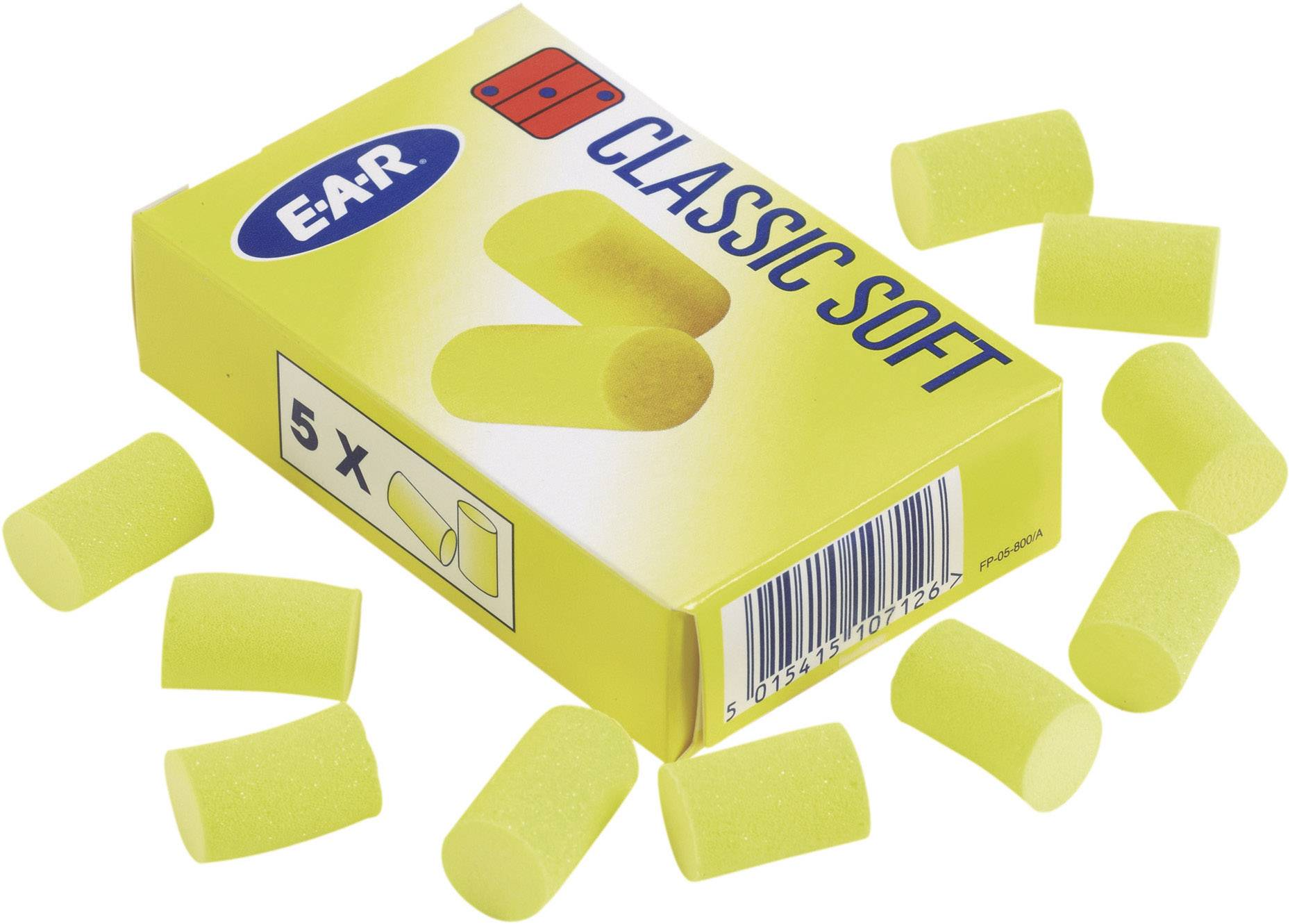 Štuple do uší EAR Classic Soft™ FP01800, 36 dB, 250 pár