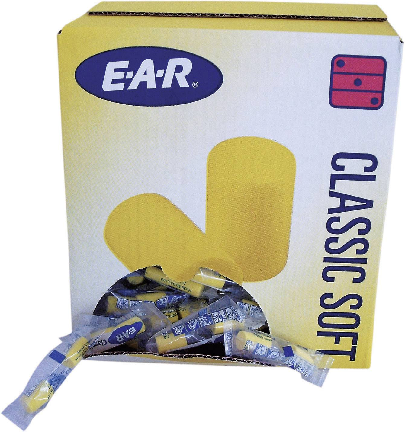 Štuple do uší EAR Classic Soft 7000052707, 36 dB, 200 pár