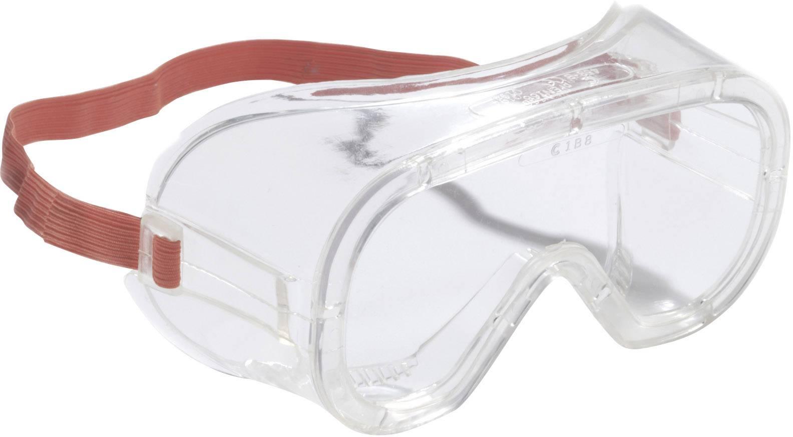 Ochranné brýle z plastu uzavřené, čiré 3M