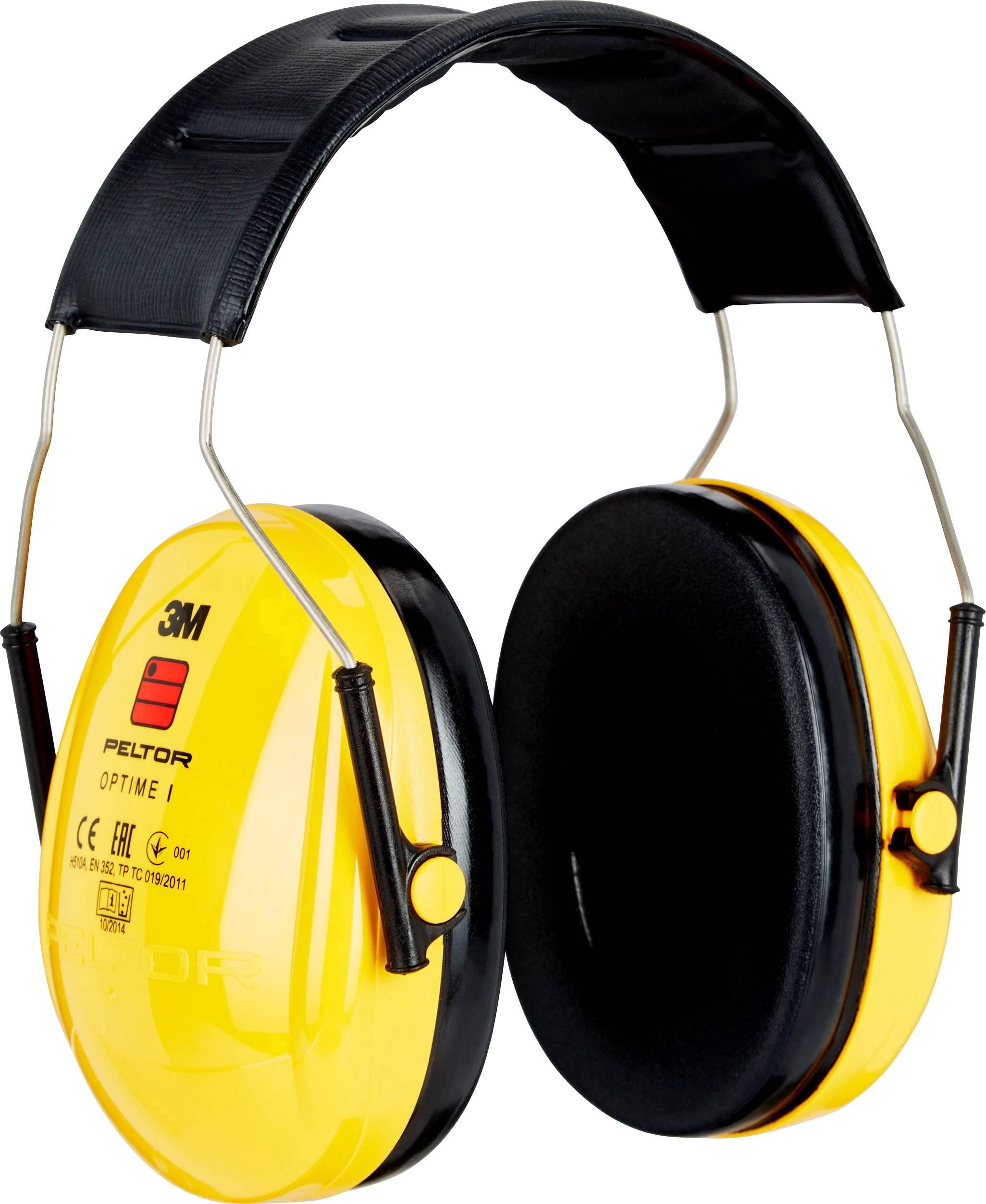 Mušľový chránič sluchu Peltor OPTIME I H510A, 27 dB, 1 ks