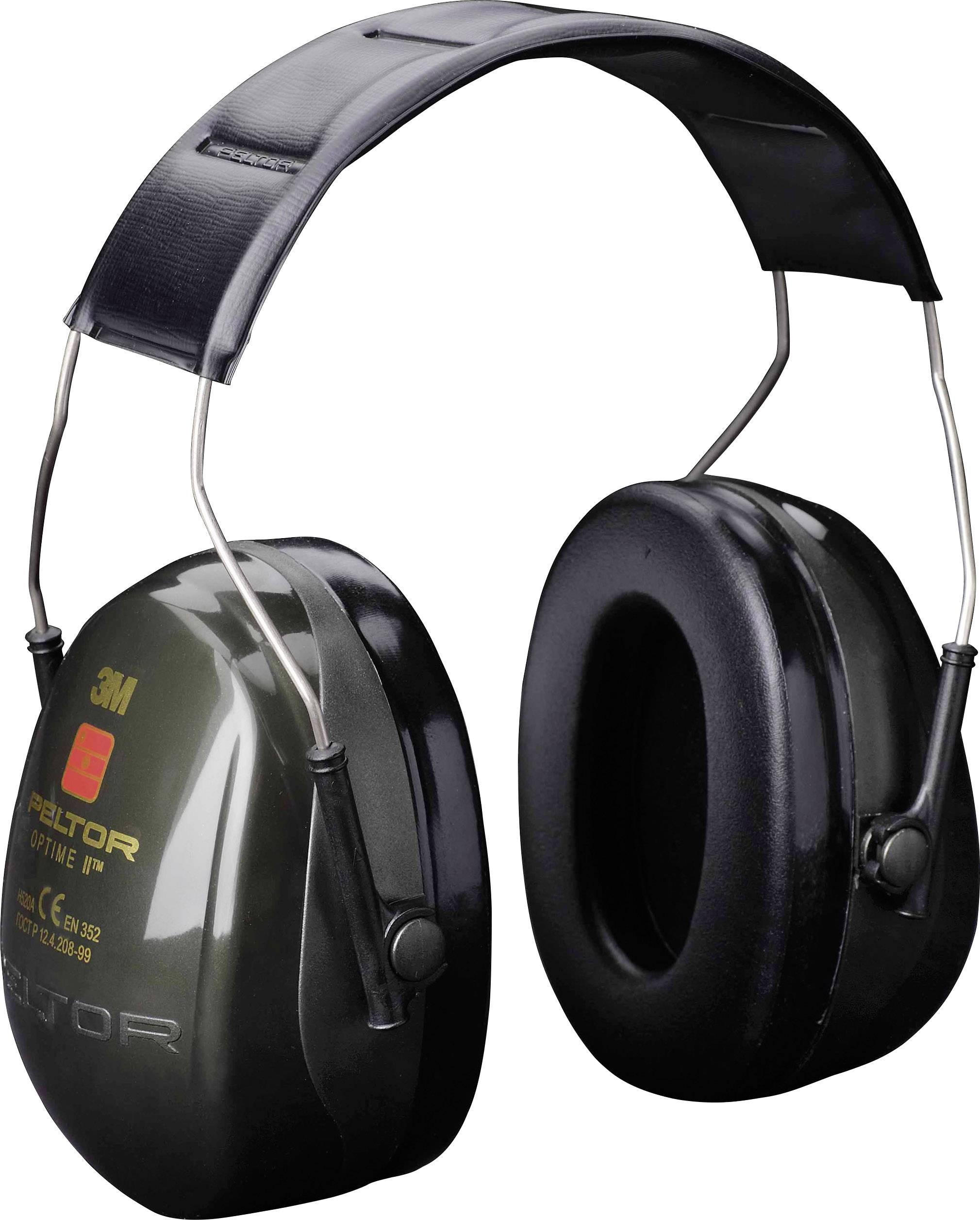 Mušľový chránič sluchu Peltor OPTIME II H520A, 31 dB, 1 ks