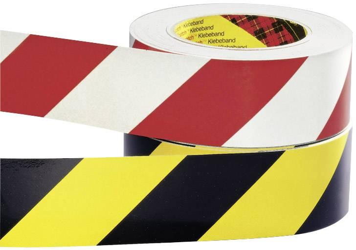 Výstražná páska Moravia, 420.11.965, černá/žlutá