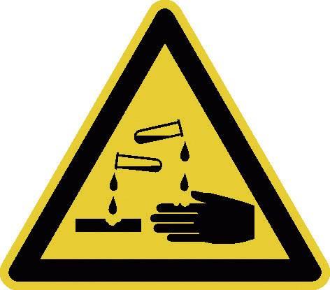 Výstražné značky a tabulky