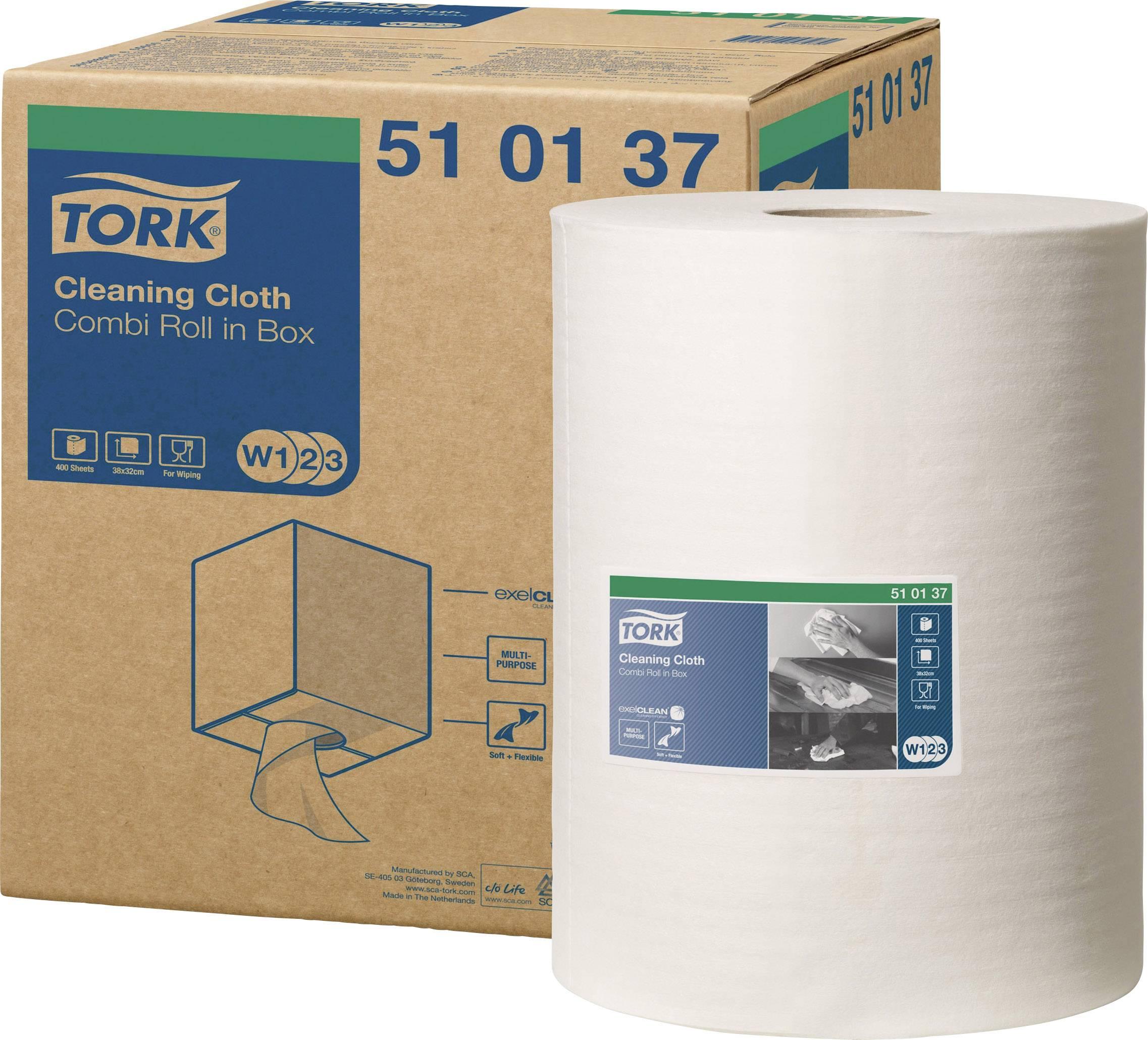 Papírové útěrky v roli TORK Premium 510137, 1 role á 400 utěrek