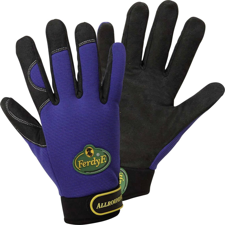 Pracovní rukavice CLARINOR - syntetická kůže, velikost L (9)