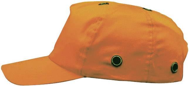 Pracovná čiapka so šiltom Voss Helme VOSS-Cap 2687, oranžová