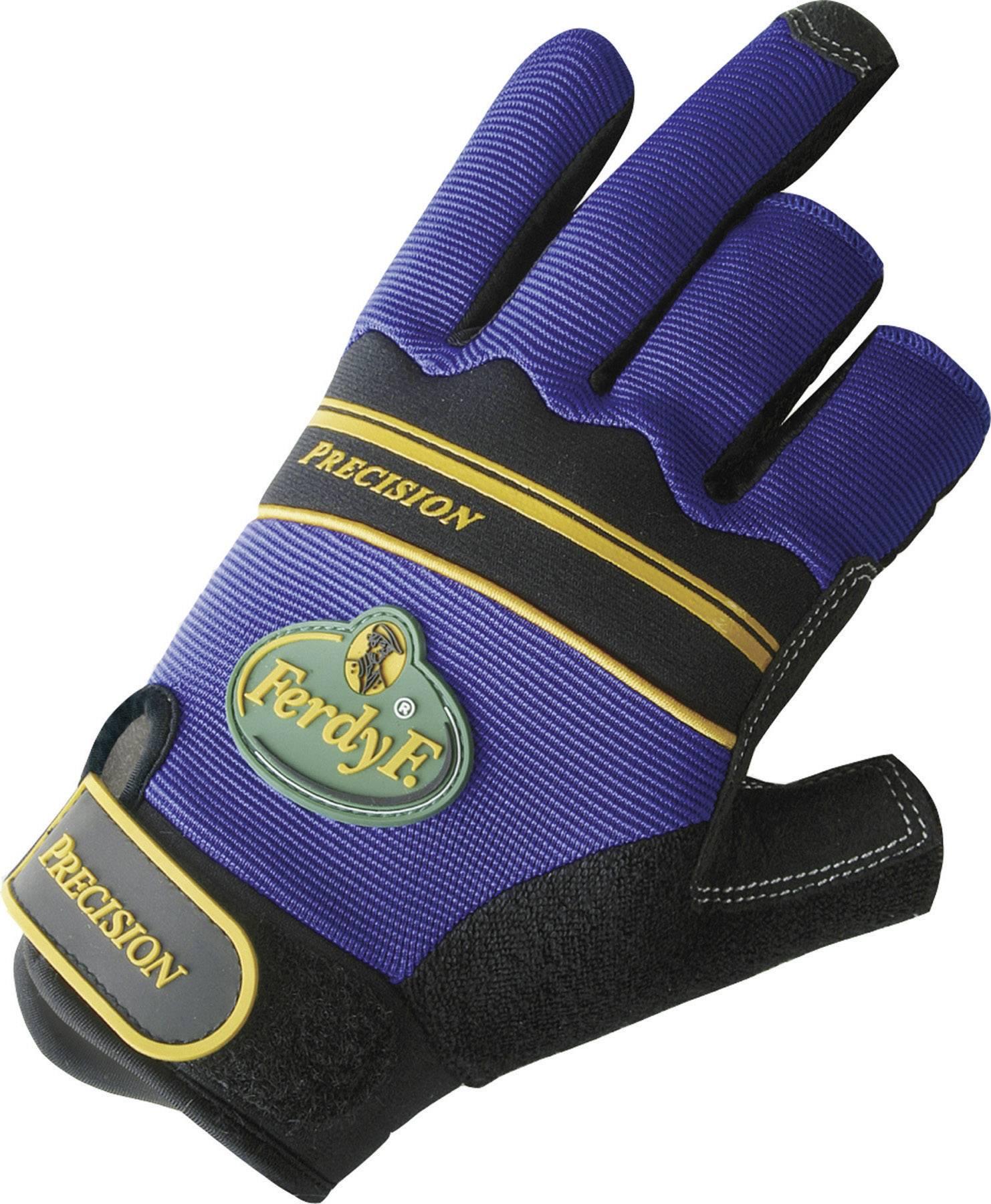 Montážní rukavice FerdyF. PRECISION 1920, CLARINO® - Syntetická kůže, velikost rukavic: 7, S