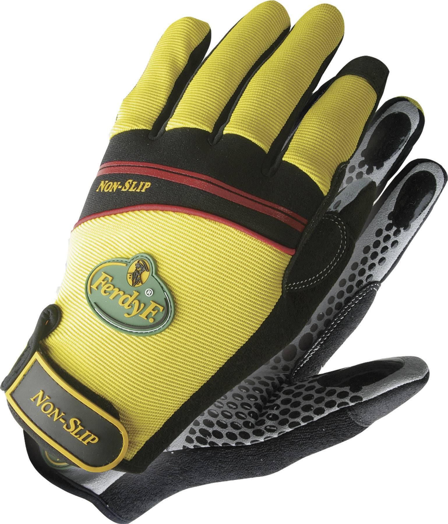 Pracovní rukavice CLARINOR, s protisluzovými dlaněmi, velikost L (9)