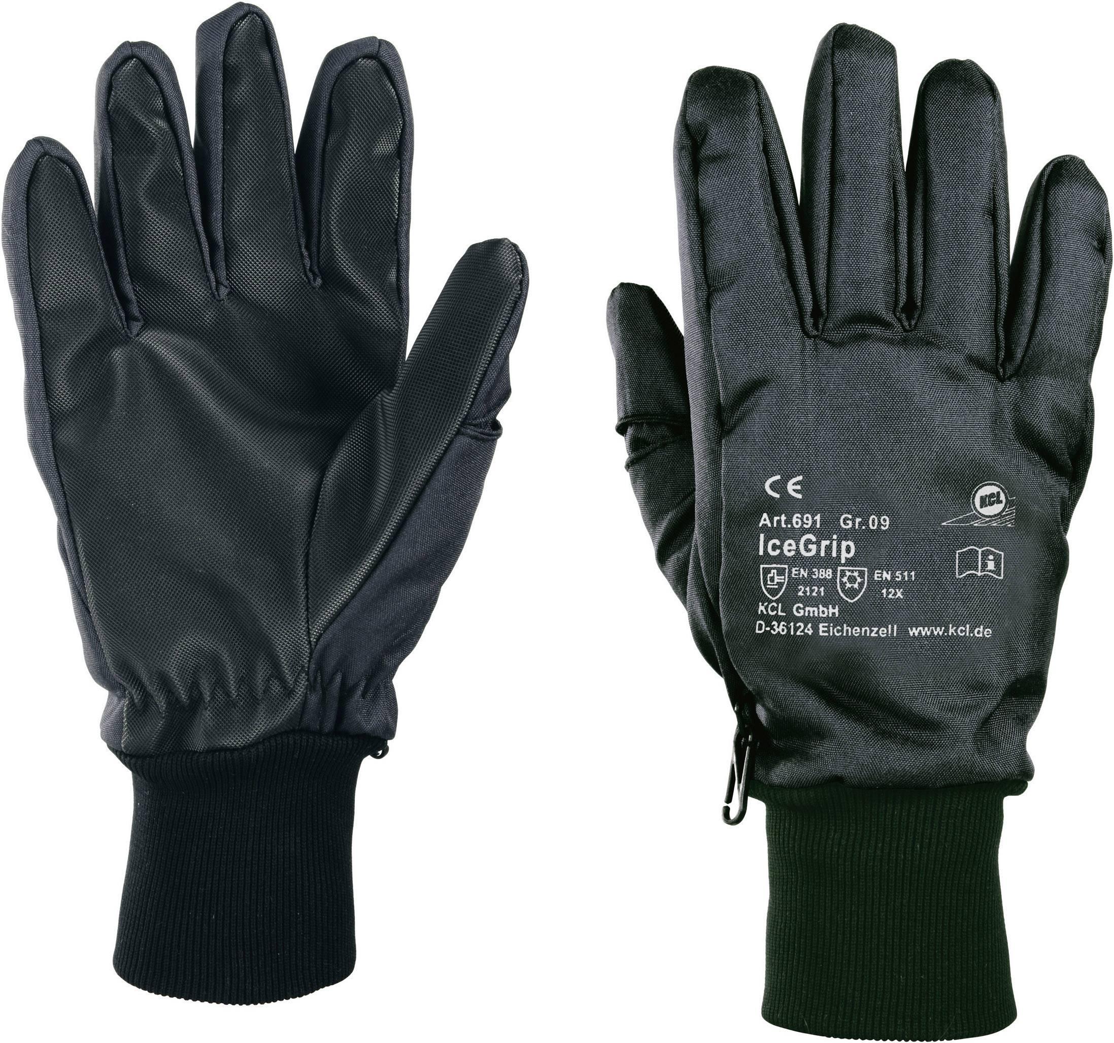 Pracovní rukavice KCL IceGrip 691 691, Thinsulate®, PVC, Polyamid, velikost rukavic: 11, XXL
