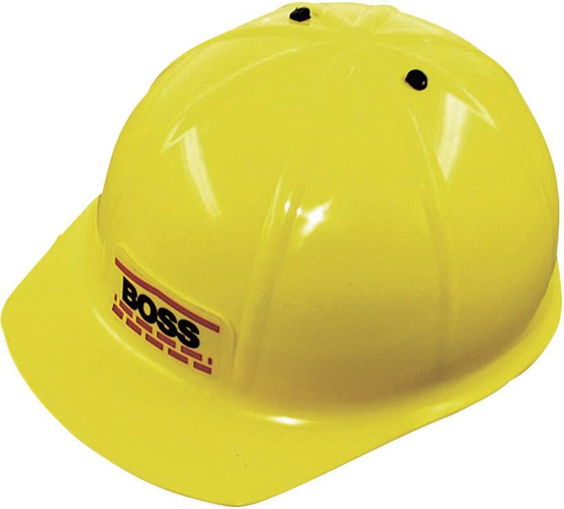 Dětská ochranná helma L+D Boss 8201, žlutá