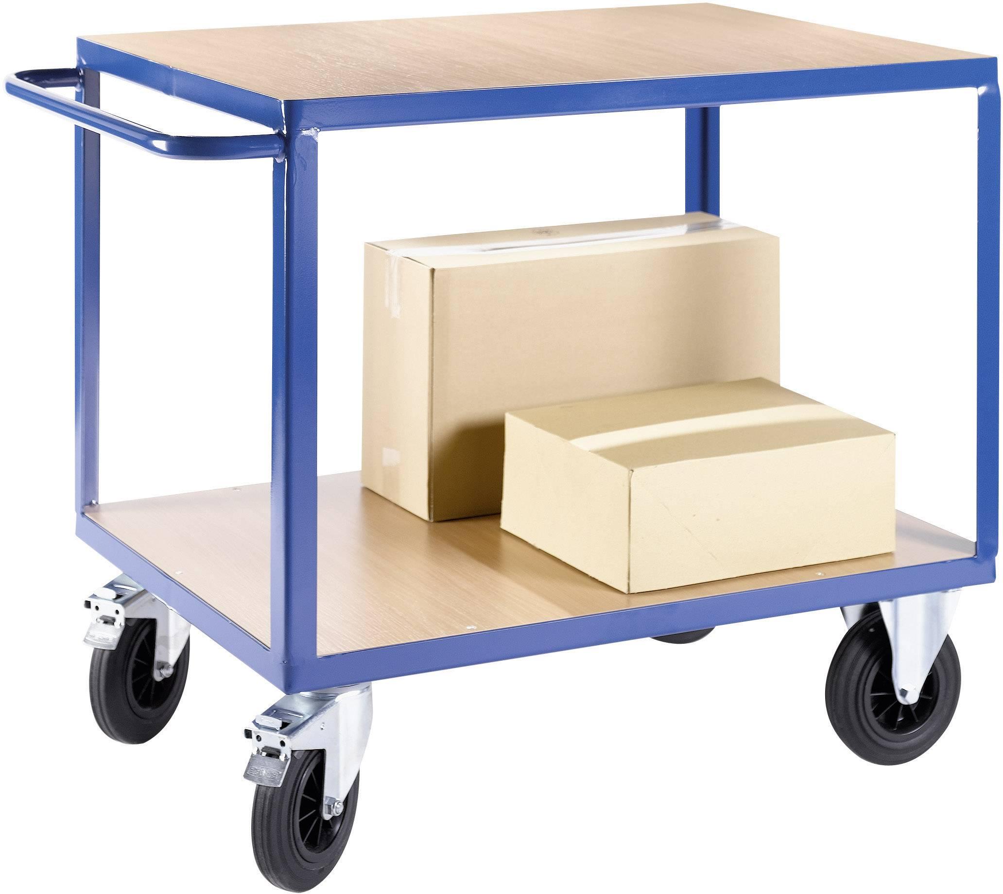 Přepravní vozíky a rudly