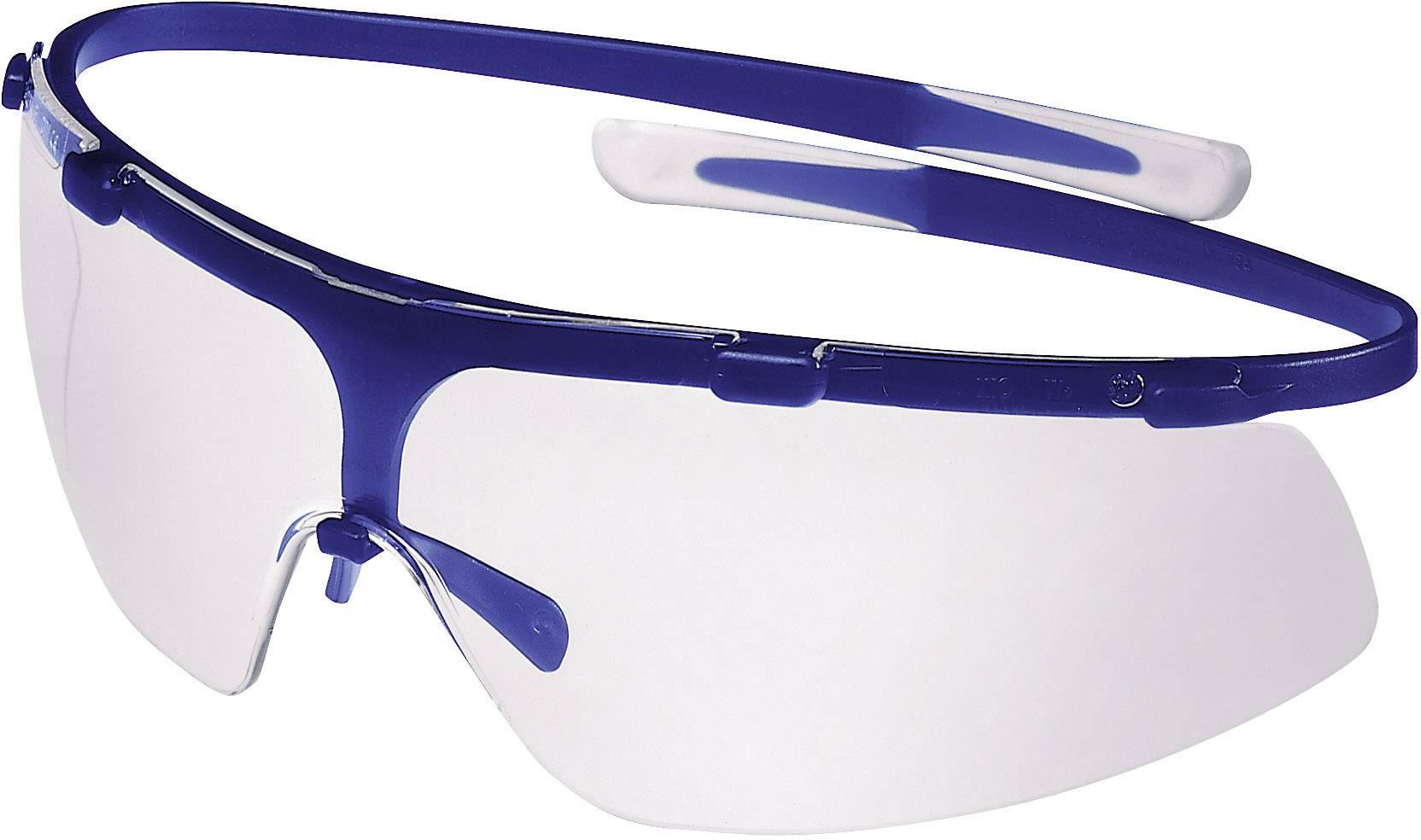 Ochranné okuliare Uvex SuperG, modré