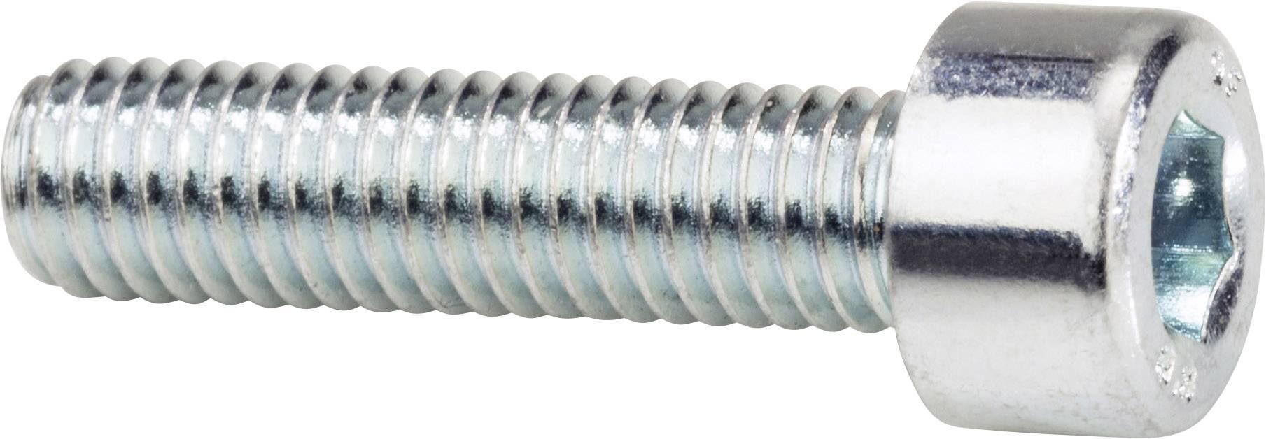 Šrouby s válcovou hlavou 912, 8x16, 100 ks