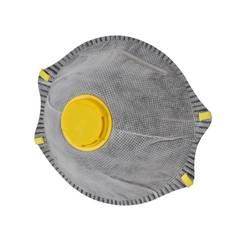 Respirátor proti jemnému prachu, s ventilem AVIT AV13030, třída filtrace FFP1, 1 ks