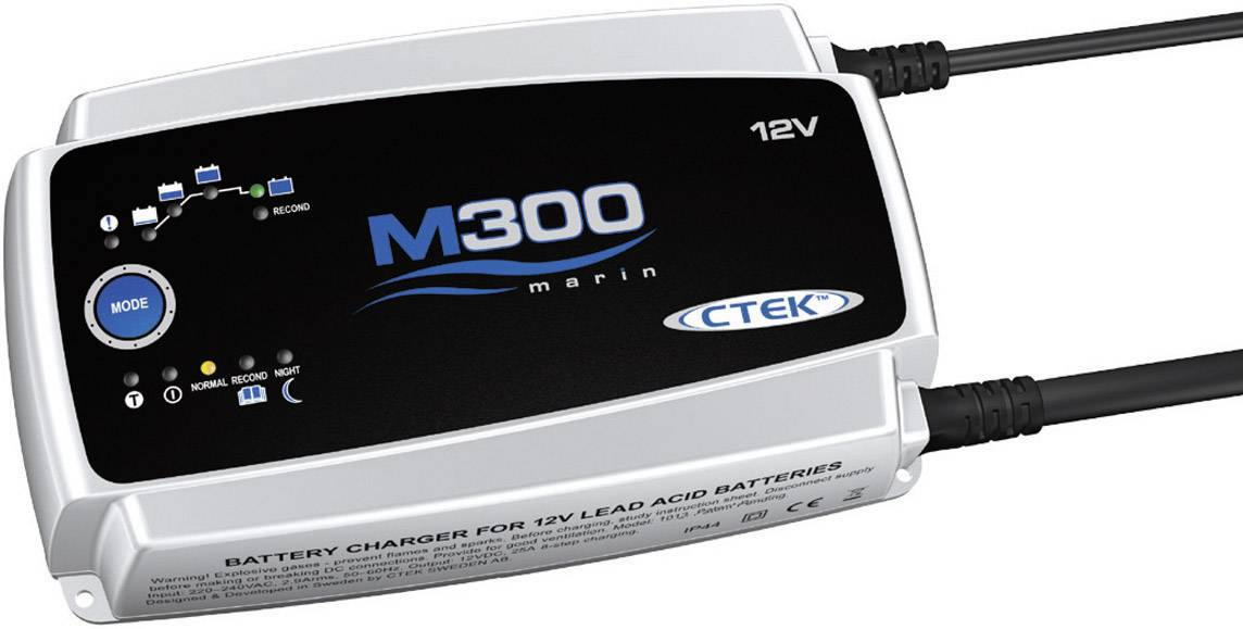 Nabíječka akumulátoru CTEK Marine M 300