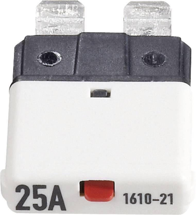 Automatická plochá pojistka CE1610-21-25A, 25 A, bílá