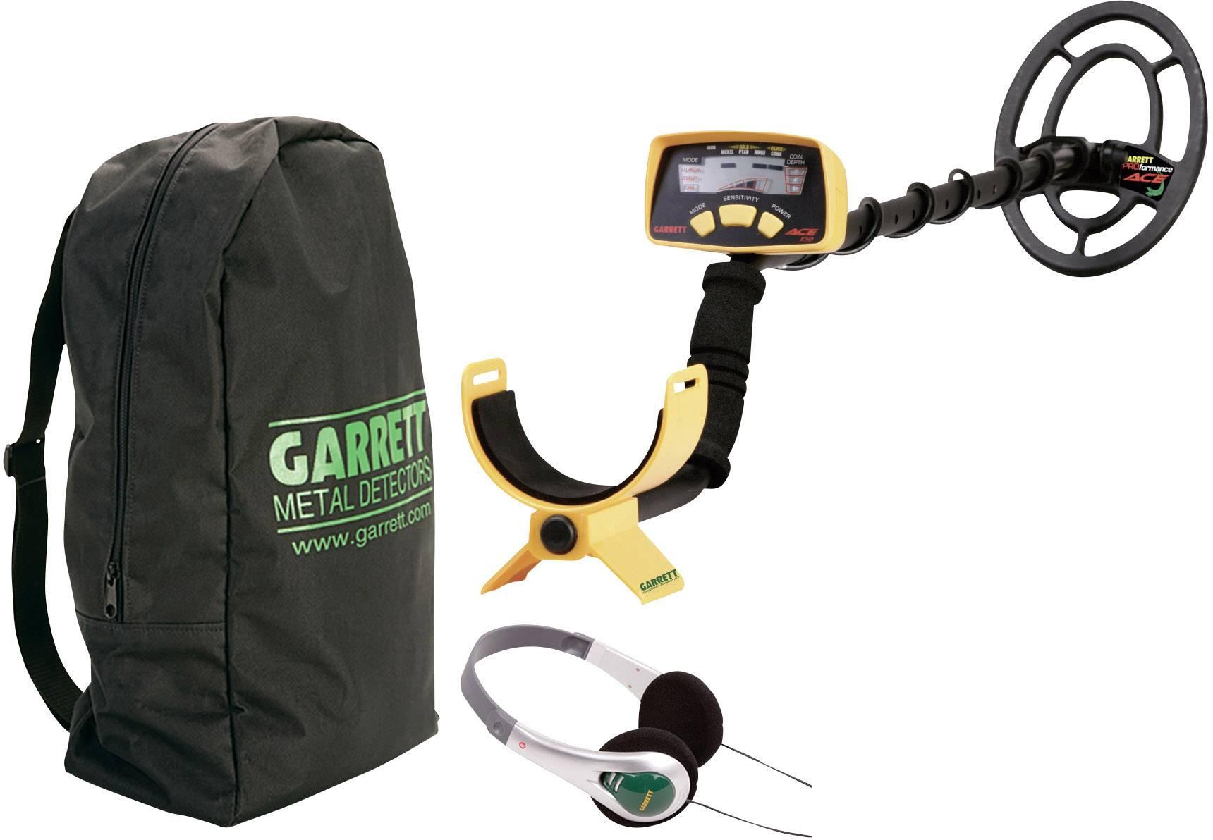 Detektor kovu Garrett ACE 150 98805, max. hĺbka vyhľadávania 120 cm