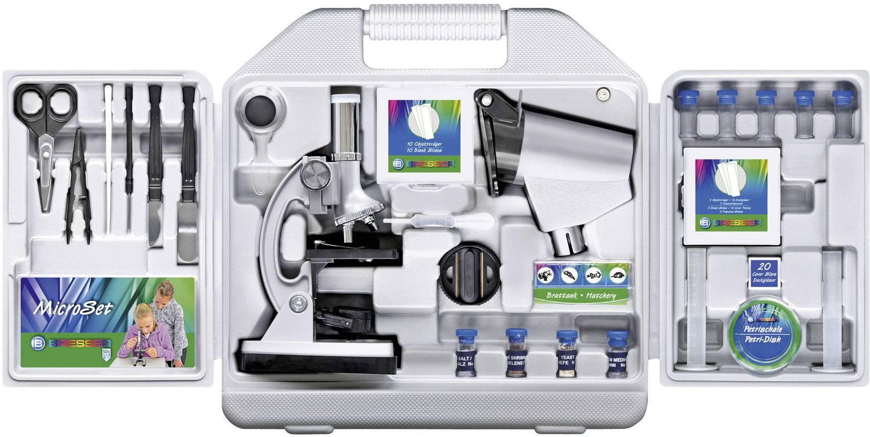 Sada s mikroskopem Bresser Junior 88-51000, zvětšení 300 - 1200x