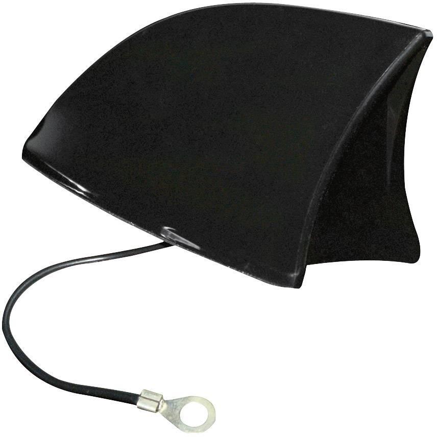 Autoanténa Eufab, tvar žraločí ploutve, černá