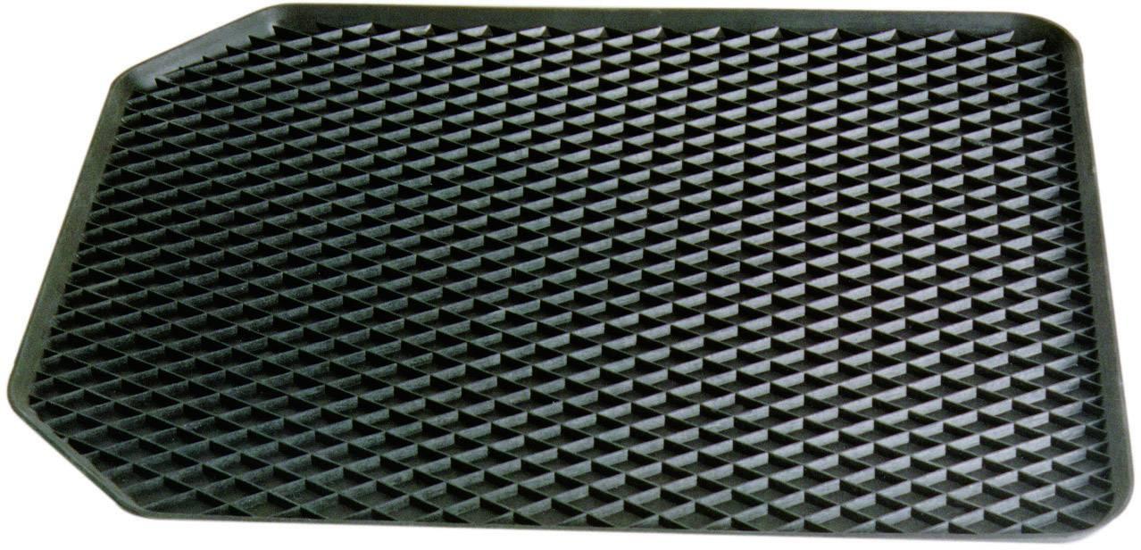 Do auta Gummimatte-Schale 55x45cm vorne schwarz 16524, (d x š x v) 55 x 45 x 4.5 cm, guma, čierna