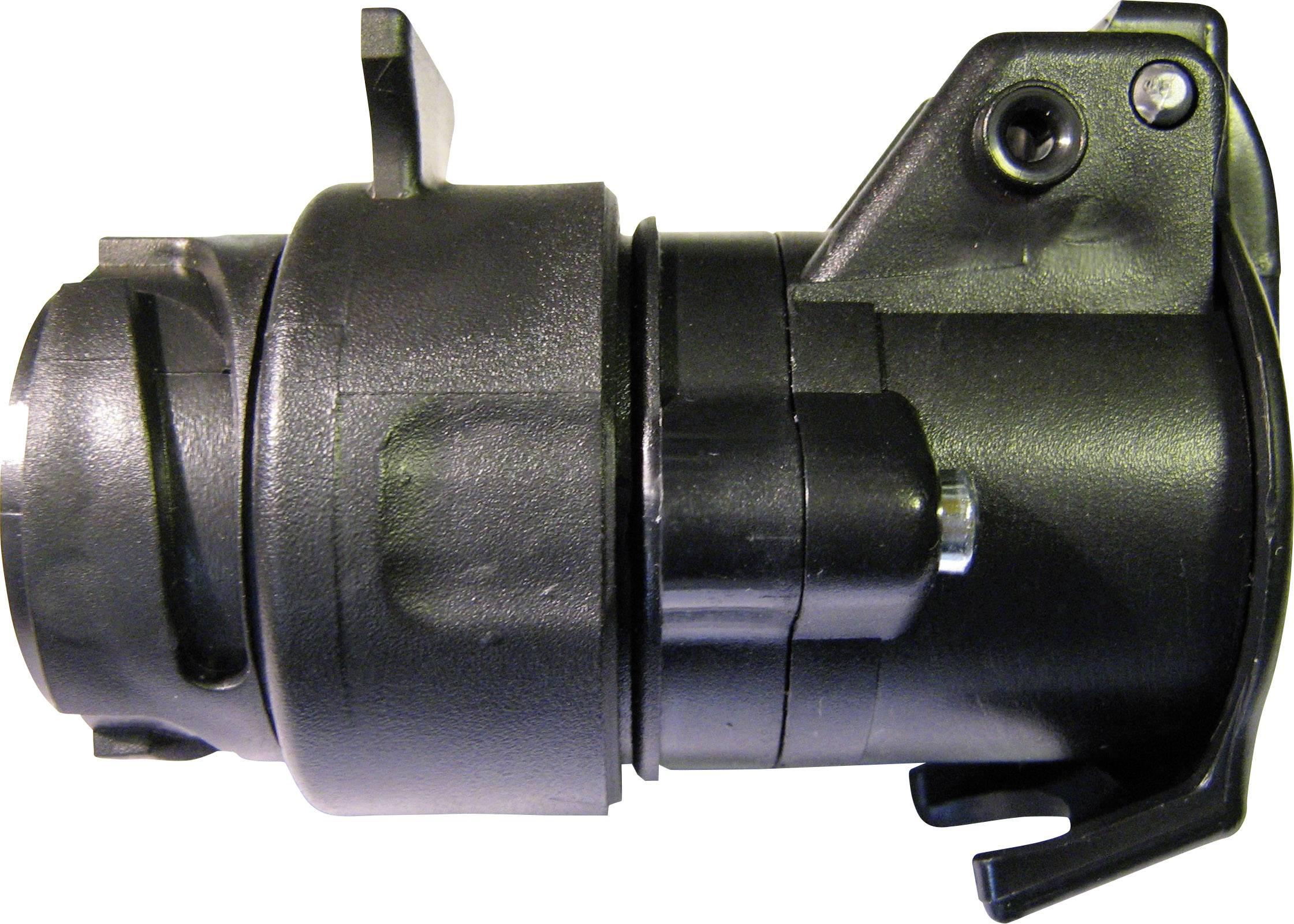 Adaptér pro zapojení přívěsu SecoRüt 50110, [13 pólová zásuvka - 7 pólová zástrčka], 12 V, plast ABS