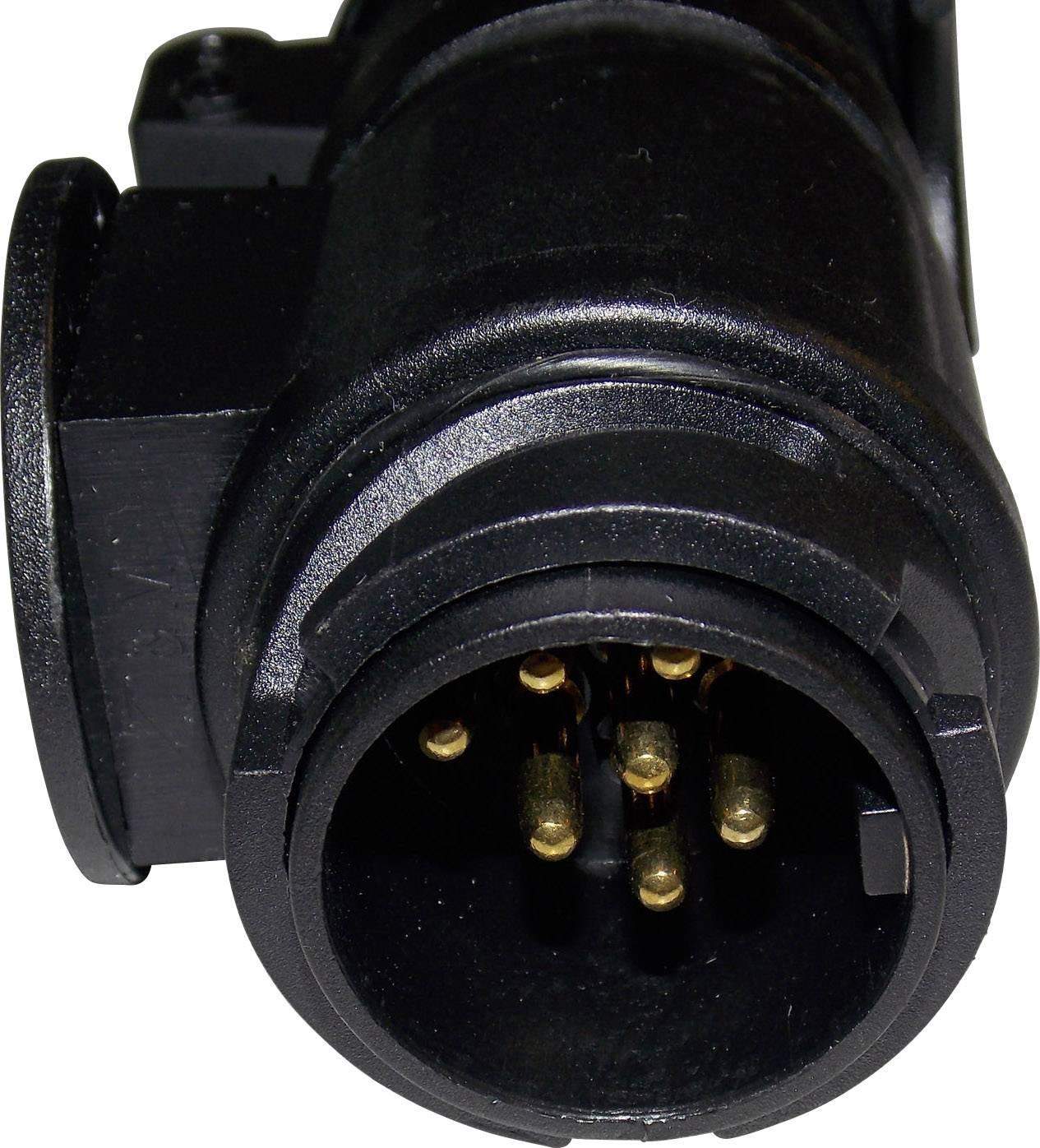 Adaptér na zapojenie prívesu SecoRüt 50110, [13 pólová zásuvka - 7 pólová zástrčka], 12 V