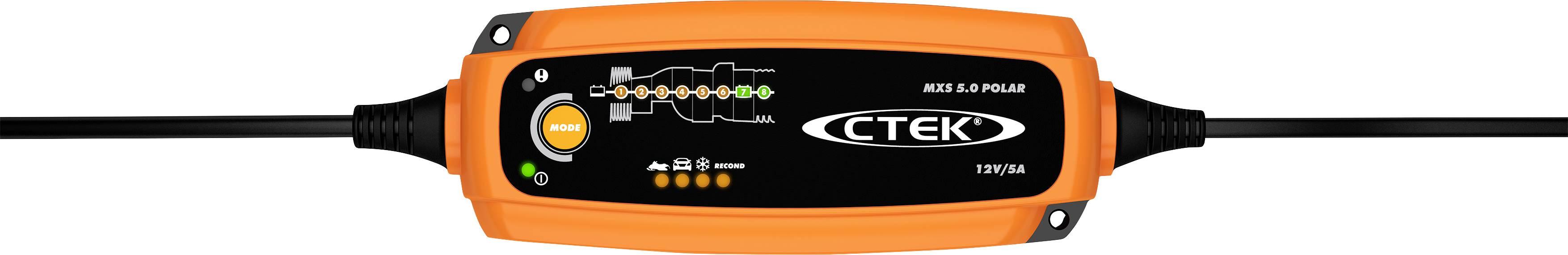 Nabíjačka autobatérie CTEK MXS 5.0 Polar 56-855, 12 V, 0.8 A, 5 A