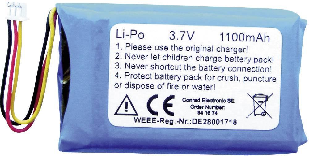 Špeciálny akumulátor 1Z10116, LiPo, 3.7 V, 1100 mAh