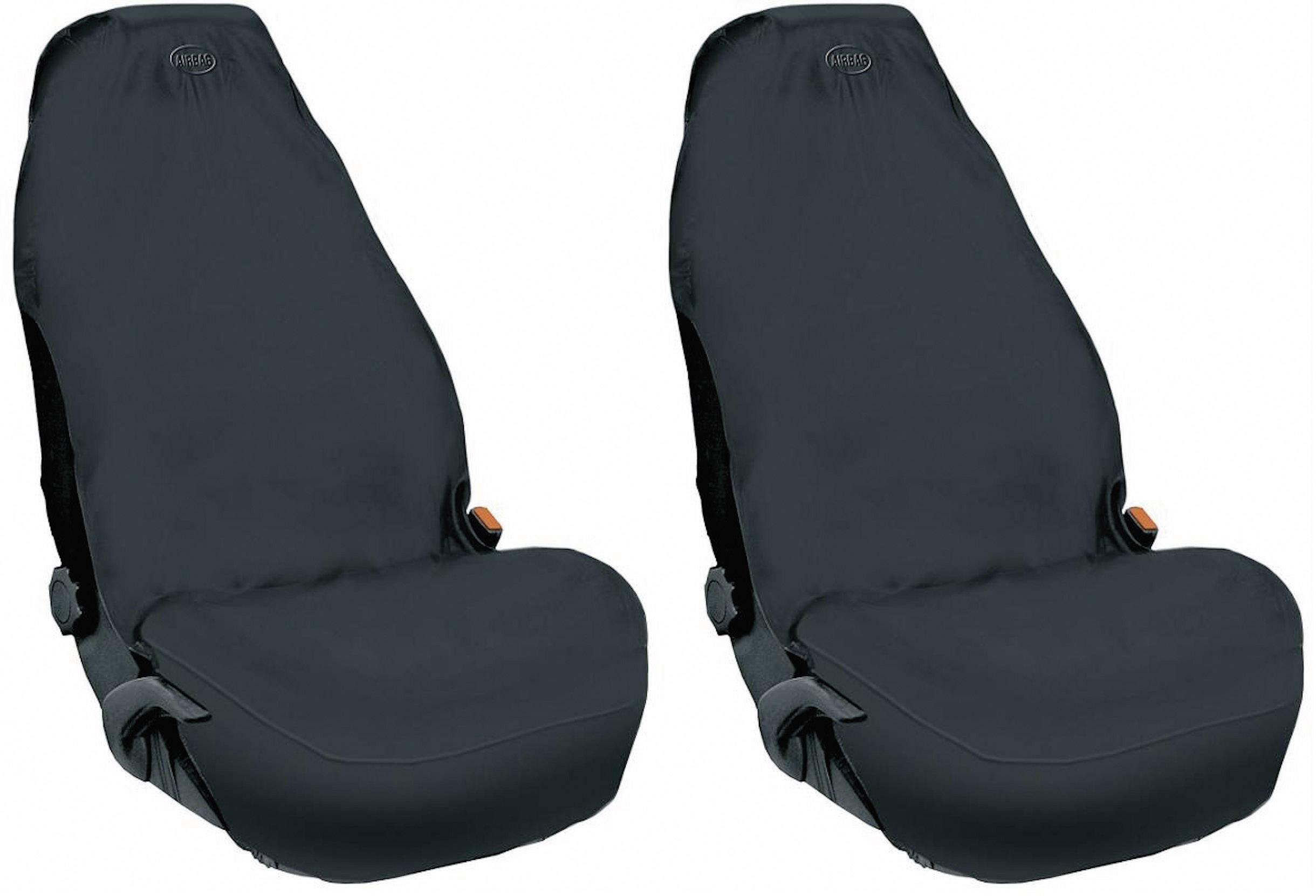 Autopoťahy 074011, 2-násobný, fleece, čierna