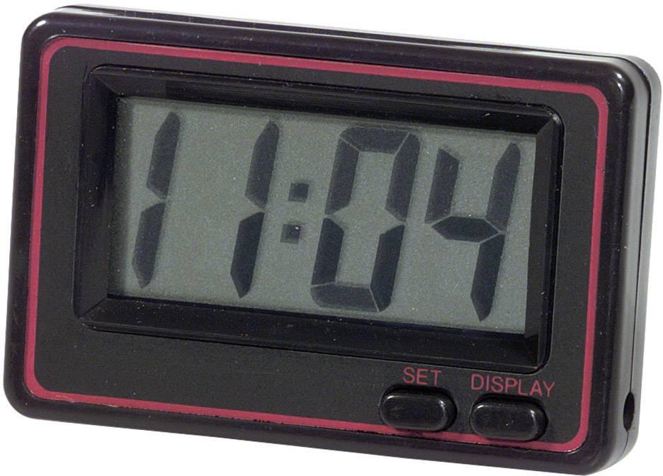 Digitální hodiny Herbert Richter, černo-červené