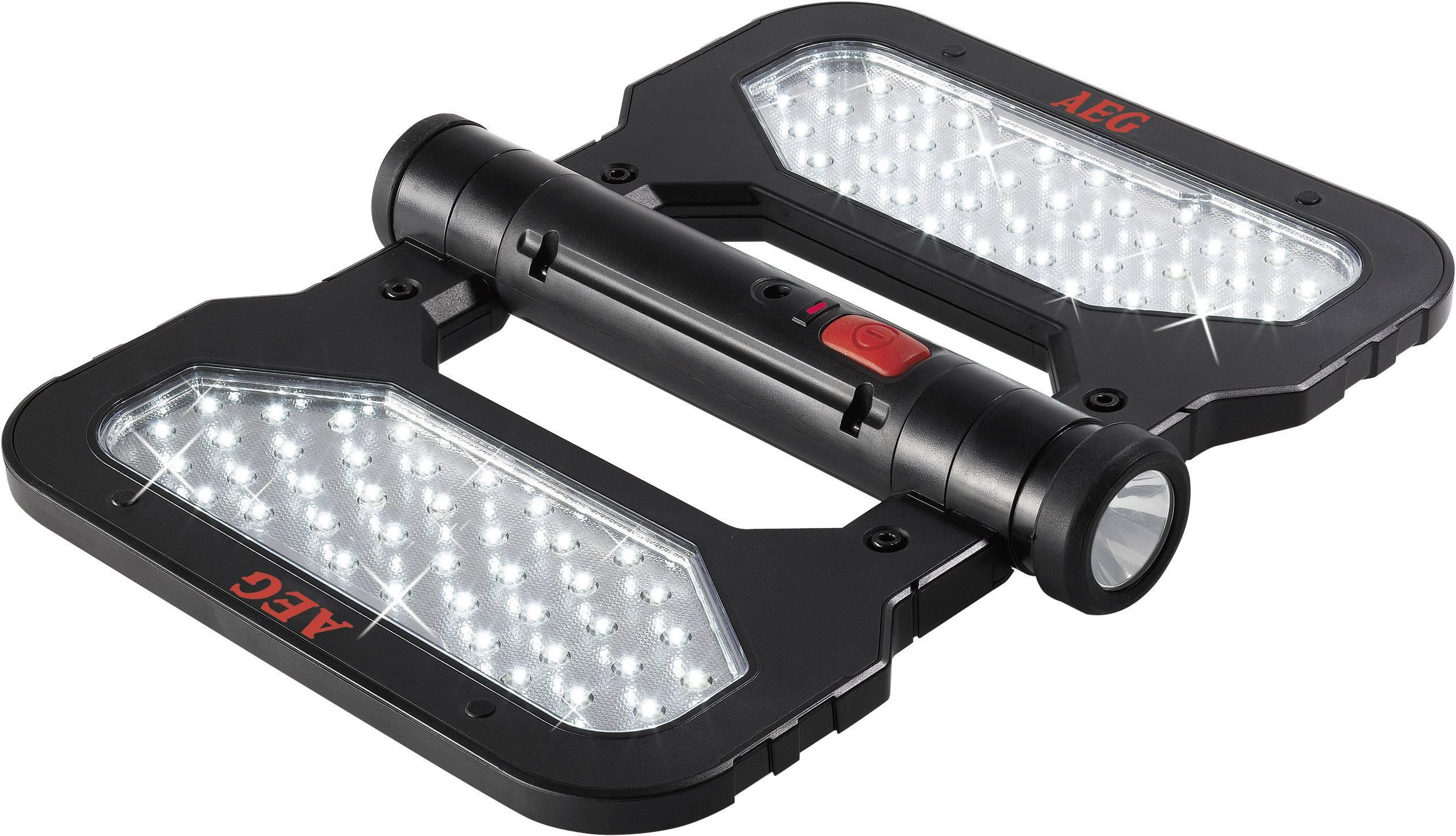 LED ploché svetlo AEG 2AEG97194 FL 80, napájanie z akumulátora