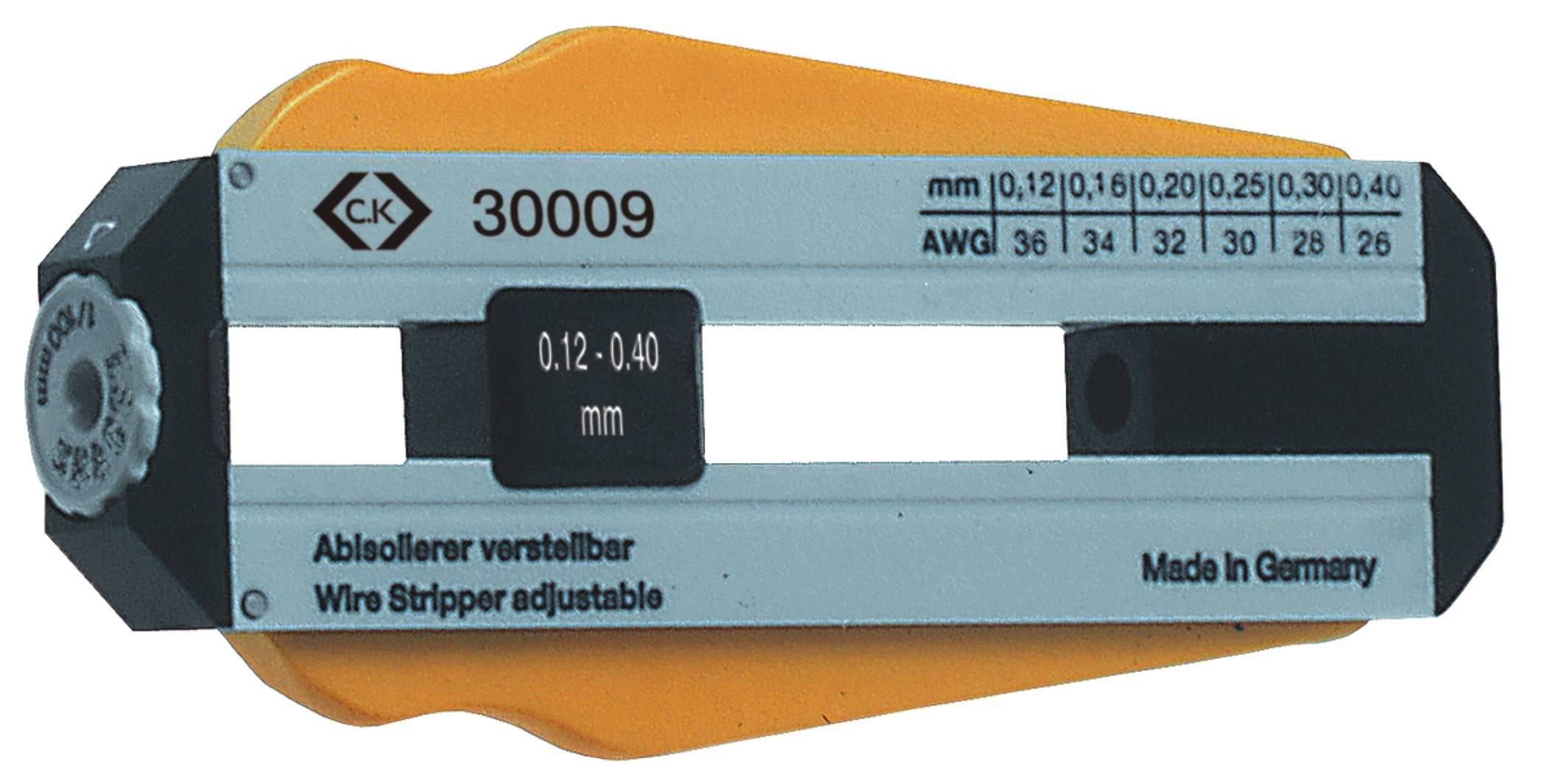 Odizolovací nástroj C.K., nastavitelný pro 6 průměrů 0,12 - 0,40 mm