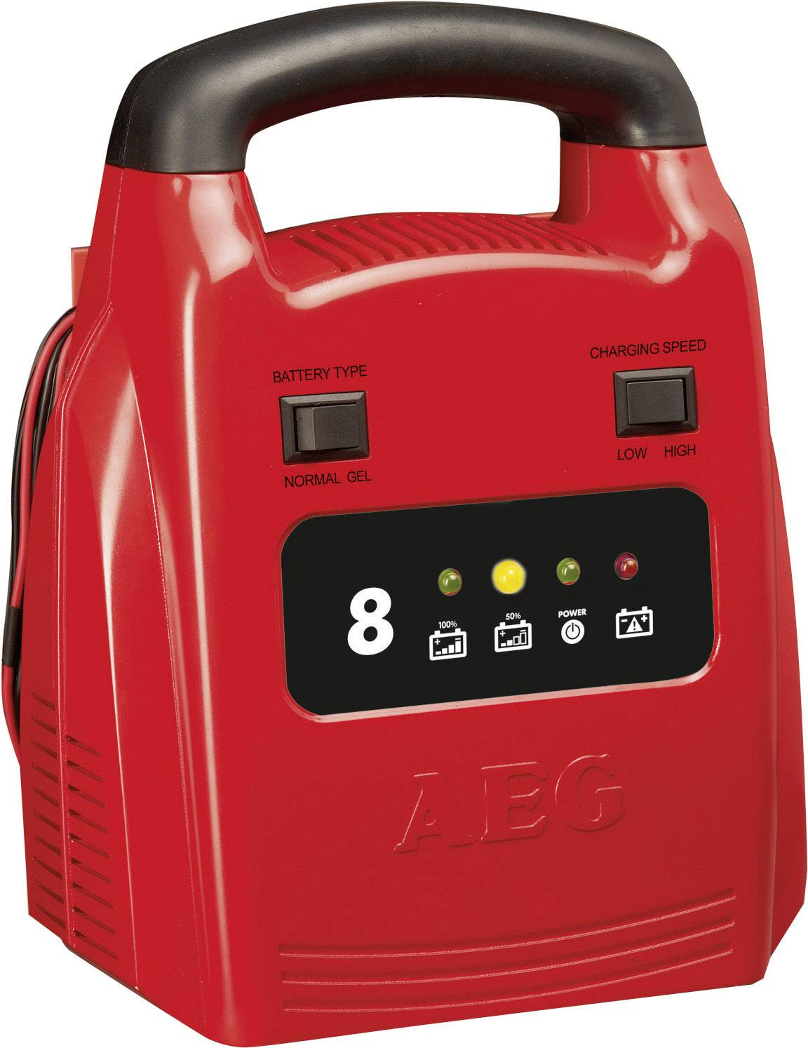 Nabíjačka autobatérie AEG AG 1208 2AEG97003, 12 V, 8 A
