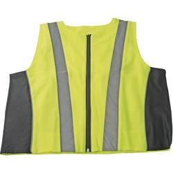 Bezpečnostní reflexní vesta, 10475, XL, žlutá/šedá
