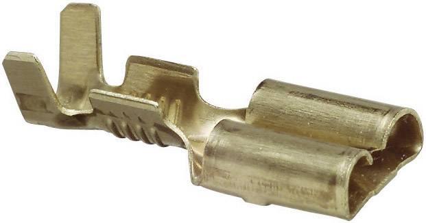 Faston, zásuvka 6,3 mm , 1 - 2,5 mm², 1pólový