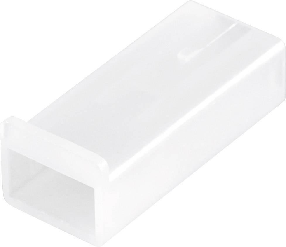 Konektor, 6,3 mm, 1 - 2,5 mm², 1pólové, transparentní