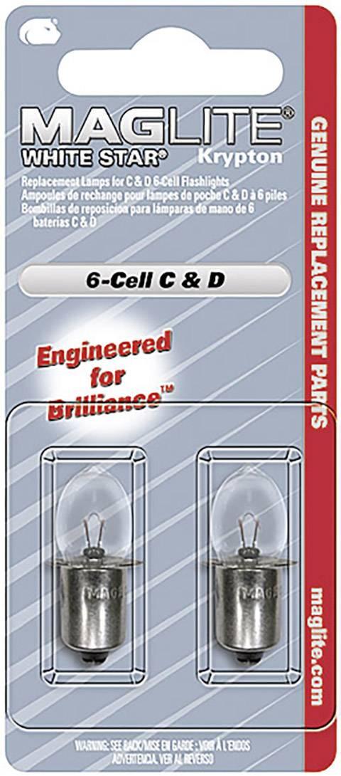 Náhradná kryptónová žiarovka Mag-Lite pre 6C/6D, 2 ks