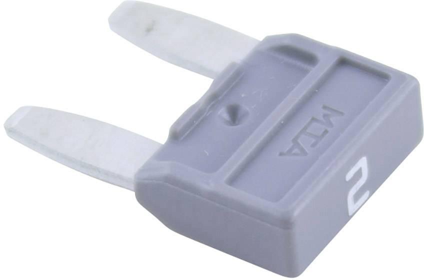 Miniaturní plochá pojistka 2 A
