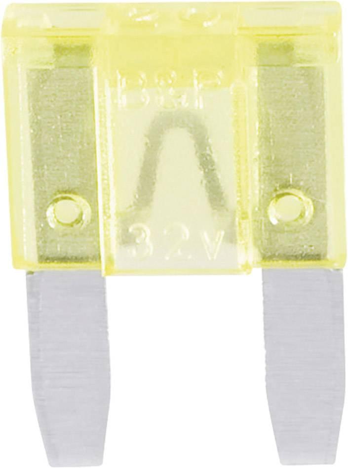 Mini plochá pojistka 341.131, 330.301, 20 A, žltá, 1 ks